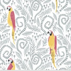 Birds in Paradise White