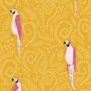 Birds in Paradise Gold